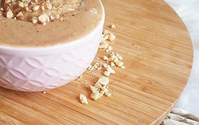 Beurre de cacahuètes maison à la cannelle