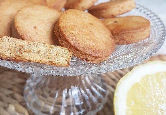 Biscuits secs citron gingembre (healthy et vegan)