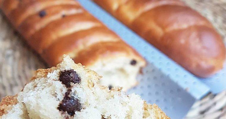 Baguettes viennoises nature ou pépites de chocolat noir, sans beurre, sans sucres raffinés, vegan