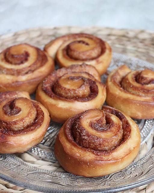 Cinnamon rolls healthy et vegan