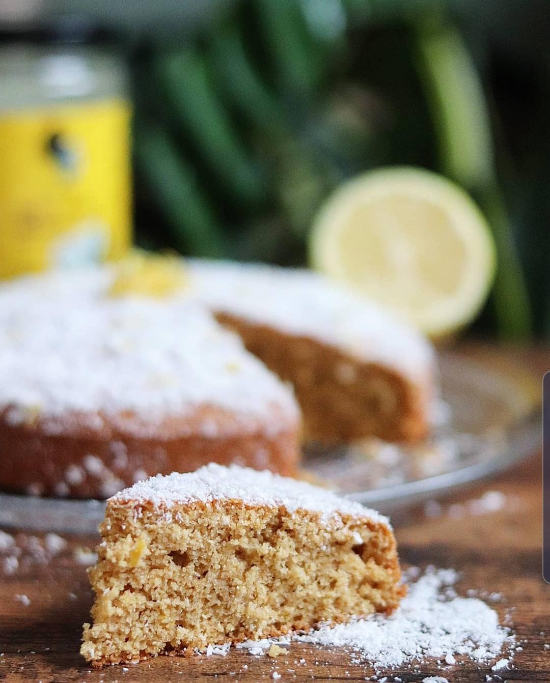 Gâteau coco / citron léger à IG bas