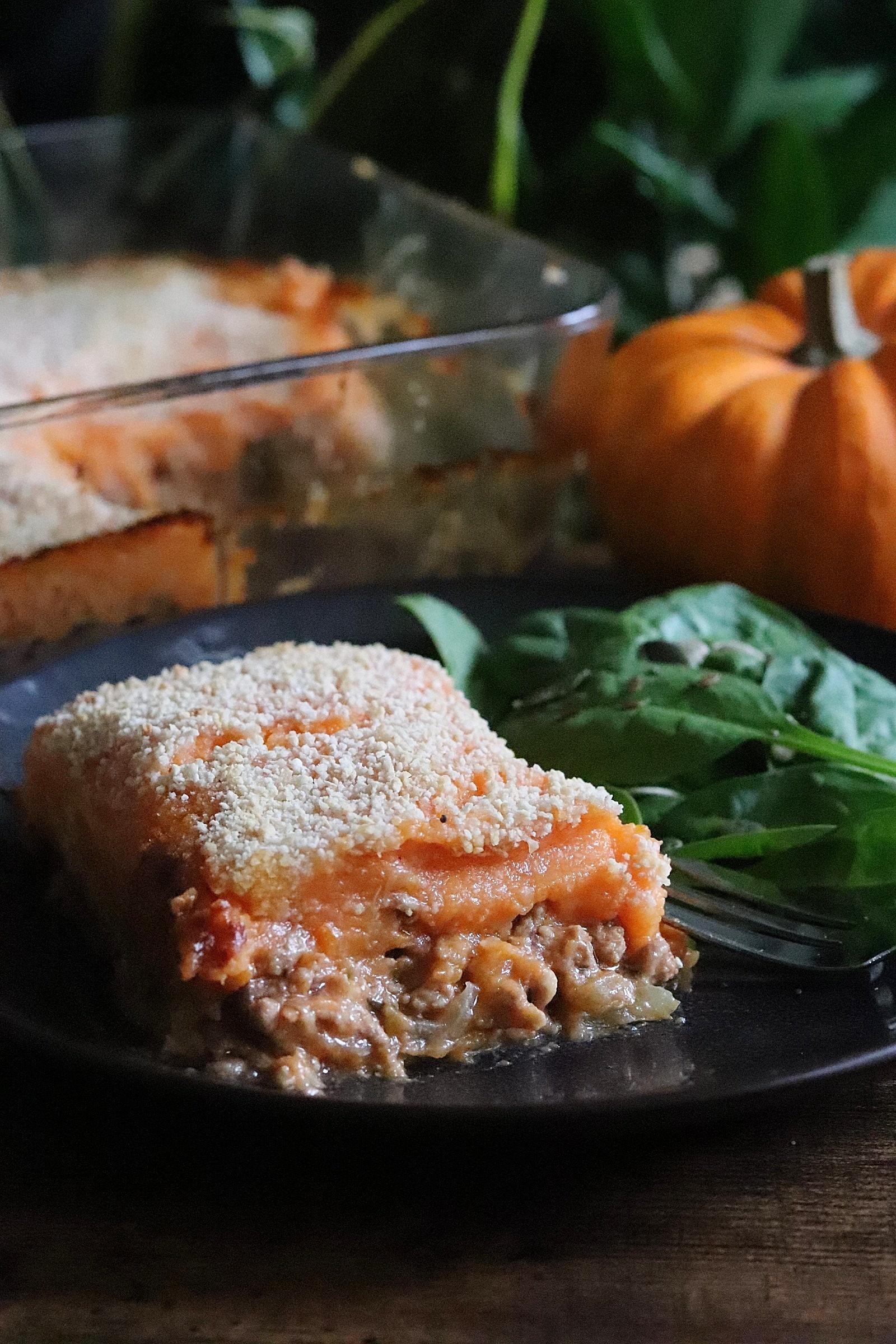 Hachis parmentier de veau aux légumes d'automne